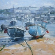 Two Fishing Boats, St Ives