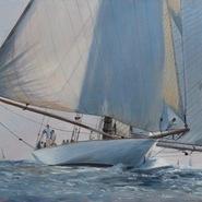 Mariquita before the Wind