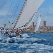 Mary Rose, Les Voiles d'Antibes. SOLD
