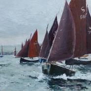 Peter Keeling Week, Camel Estuary  SOLD