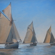 Pilot Cutters, Falmouth  SOLD