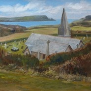 St Enodoc Church, Early Spring