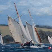 Working Boats racing, Falmouth